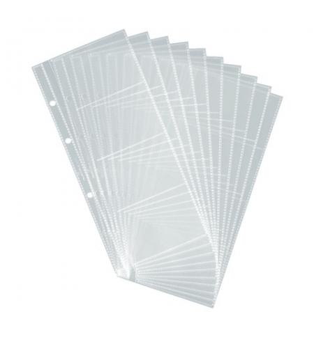 фото: Блок карманов для визитниц Durable на 80 визиток прозрачный, 10 шт/уп, 2387-19