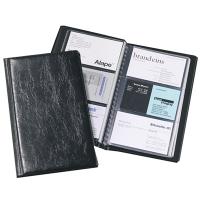 Визитница Durable Visifix на 72 визитки черная, 195x115мм, ПВХ, 2400-01
