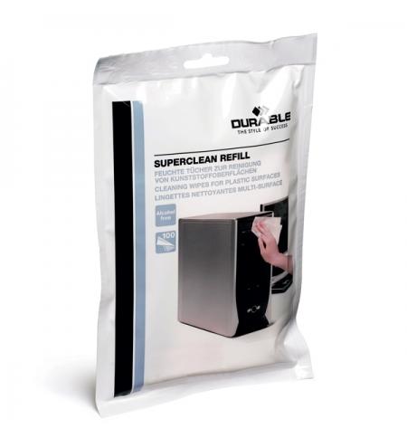 фото: Запасной блок салфеток Durable Superclean 100 шт/уп 5709-02
