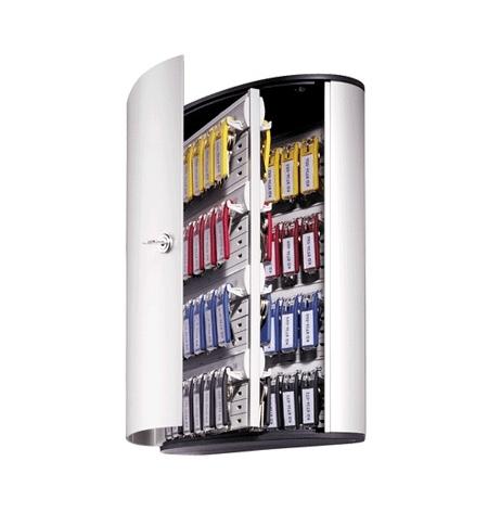 фото: Шкаф для ключей Durable на 72 ключа ключевой замок, 6 брелоков, 302х400х118мм, 1955-23