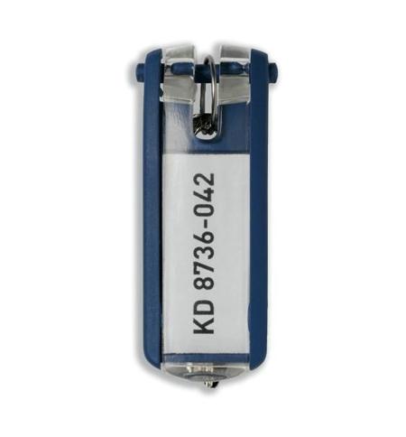 фото: Бирки для ключей Durable синие 6шт, 1957-07