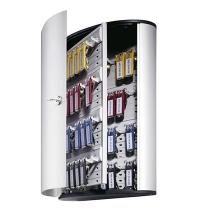 Шкаф для ключей Durable на 48 ключей ключевой замок, 6 брелоков, 302х400х118мм, 1954-23