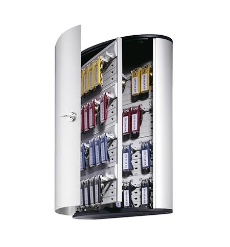 фото: Шкаф для ключей Durable на 48 ключей ключевой замок, 6 брелоков, 302х400х118мм, 1954-23