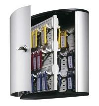 Шкаф для ключей Durable на 18 ключей ключевой замок, 18 брелоков, 302х118х280мм, 1951-23