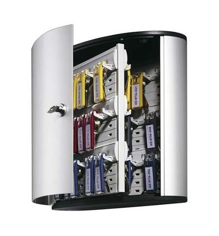 фото: Шкаф для ключей Durable на 54 ключа ключевой замок, 6 брелоков, 302х118х280мм, 1953-23