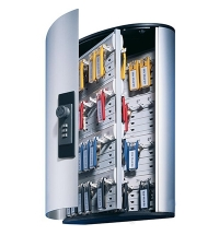 Шкаф для ключей Durable на 72 ключа кодовый замок, 6 брелоков, 302х400х118мм, 1967-23