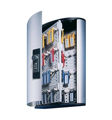 фото: Шкаф для ключей Durable на 72 ключа кодовый замок, 6 брелоков, 302х400х118мм, 1967-23