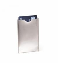 Чехол для пропусков на рулетке Durable 91х61мм, 10шт/уп