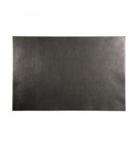 Коврик настольный для письма Durable 65х45см, черный, из натуральной кожи, 7305-01