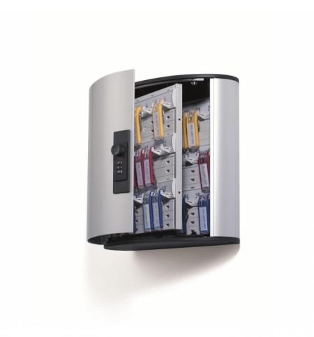 фото: Шкаф для ключей Durable на 36 ключей, кодовый замок, 36 брелоков, 208х118х302мм, 1966-23